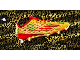 adidas adizero 5-Star Gold - Red