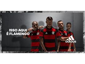 """Conheça o novo """"Manto Sagrado"""" do Flamengo"""