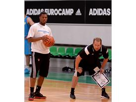 Kyle Lowry adidas Eurocamp2015 day2