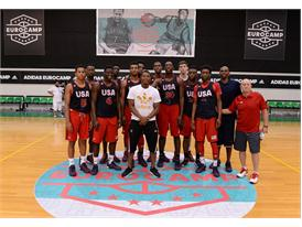 Team USA adidas Eurocamp2015 + Kyle Lowry day2