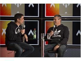 Sergio Goycochea se unió a la conversación acerca de la revolución del fútbol en la Casa América de adidas