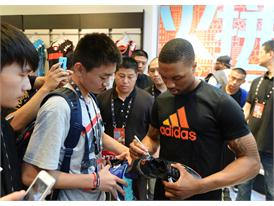 adidas Damian Lillard Take on Summer Tour in Shanghai, China 5