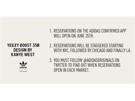 adidas Originals Confirms Yeezy Boost 350 US Launch Plans