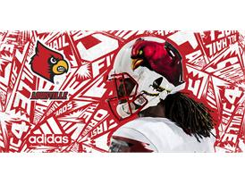 adiSP-0033 FW15 NCAA Louisville Helmet Cardinal PR 01