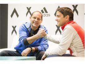 Rene Higuita y Roberto Cabañas 16