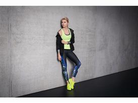 Lena Gercke in adidas Training Q3