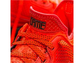 D Lillard 1 Solar Orange Detail 1 Sq