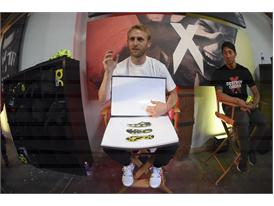 Marco Mueller (L) & Peter Hong - adidas Be The Difference LA (2)