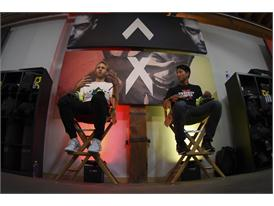 Marco Mueller (L) & Peter Hong - adidas Be The Difference LA