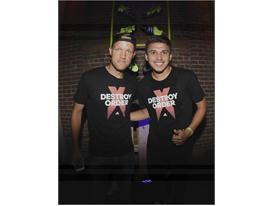Mika Vayrynen (L) & Oscar Sorto - adidas Be The Difference LA