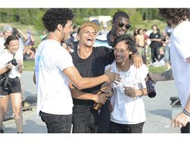 Das Team Arrow and Beast gewinnt den adidas Skate Copa Contest Berlin