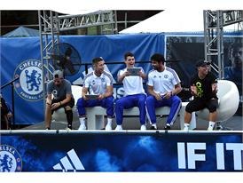 adidas Hosts Chelsea FC in NYC 12