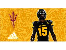 ASU adidas Football Black Chest