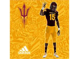 ASU adidas Football Home Pitchfork