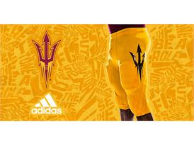 ASU adidas Football Home Pant