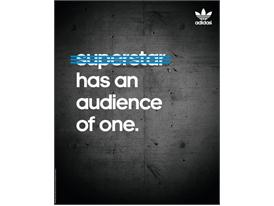 Superstar has an audience of one