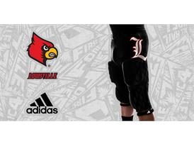 Louisville Black adidas Football 5