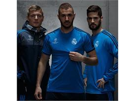 Training - Kroos, Benzema, Isco