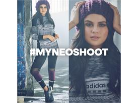 adidas NEO Lover FW15 Activation Casting Video Instagram Thumbnail