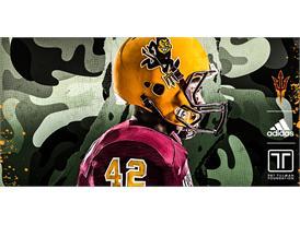 ASU - adidas PT42 uniform Helmet