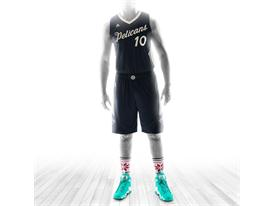 Christmas Day Jersey 2015 Pelicans 1