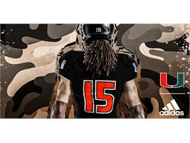 Miami adidasFooball Military Appreciation Back