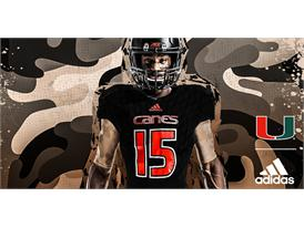 Miami adidasFooball Military Appreciation Front