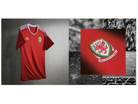 21252 JD Fed Kits 2000x1000mm Wales Home Shirt