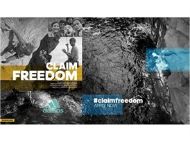 『#claimfreedom』 TOP