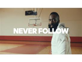 adidas and James Harden Launch 'Creators Never Follow'