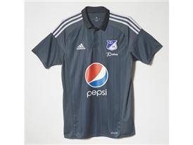 Camiseta Visitantes Millonarios F.C. 2016