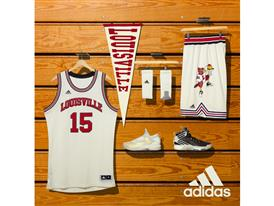 NCAA Black History Month Louisville Cream Logo Square