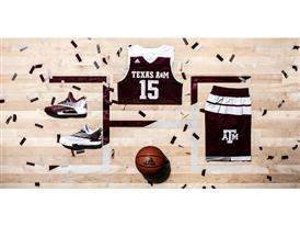 2016 Made in March Texas A&M Away Horizontal