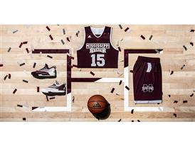 2016 Made in March Miss. State Away Horizontal