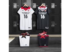 adidas Unveils Uniform Collection for 2016 McDonald's All American Games