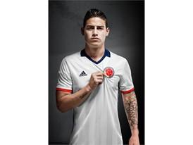 James Rodríguez - Camiseta FCF Edición Especial Copa América Centenario vertical