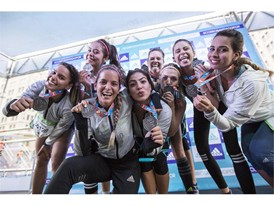 Boost Girls 10K Maratón de Santiago Chile 1