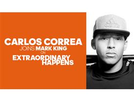 Extraordinary Happens Episode Art Carlos Correa