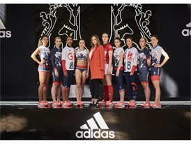 Image 5 - (L to R) Jodie Williams, Becky James, Laviai Nielsen, Jessica Ennis-Hill, Stella McCartney, Emily Scarratt, La