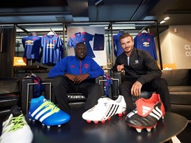 SURPRISE IN STORE - Stormzy meets David Beckham