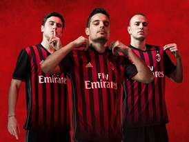 adidas and AC Milan launch the Rossoneri Jersey for the 2016/17 season