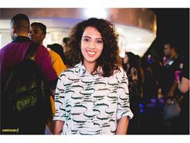 Carla Lemos in Ipanema's opening