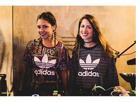 DJs Cix and Yasmin in Ipanema's opening