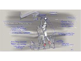 adidas Crazy Explosive Design Sketch 1