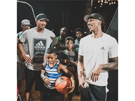 adidas LVL3 - Jeff Teague (r) and Avery Bradley