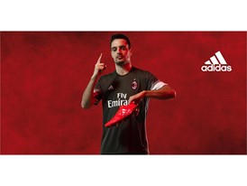 AC MILAN 16-17 Kit SOCIAL BONAVENTURA PRODUCT THIRD