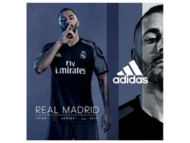FO Football Clubs 2016-2017 Real Madrid Players Third Athlete UCL