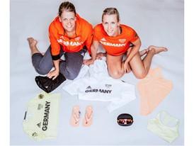 Beachvolleyballerinnen Karla Borger und Britta B++the