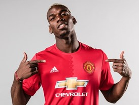Paul Pogba's World Record Transfer to Manchester United Celebrated by adidas