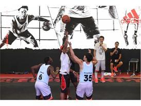 adidas Derrick Rose Take On Summer Tour China 8